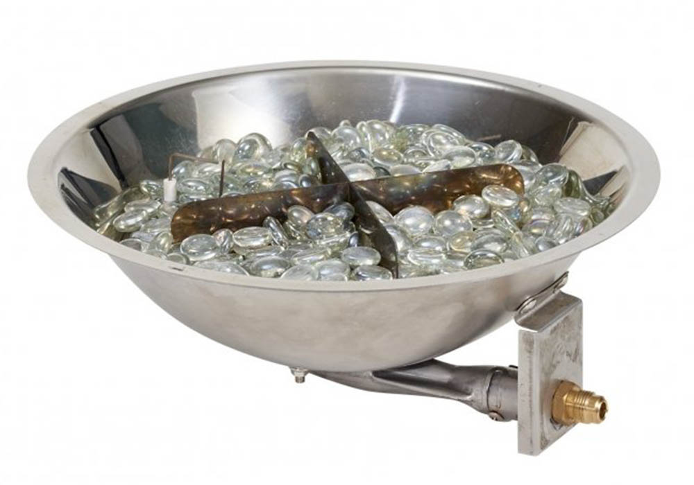Round Crystal Fire Burners by OGC   Ontario Hearth ...